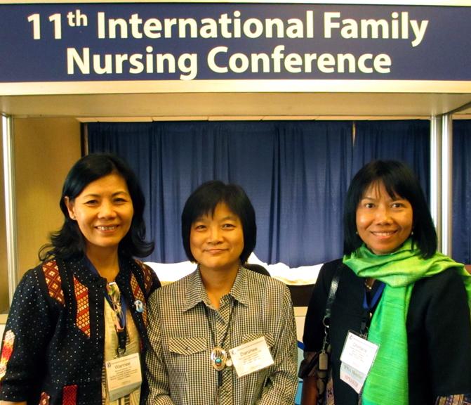2013, USA: 11th International Family Nursing Conference ...
