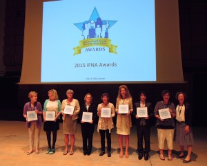 IFNA 2015 Award Recipients at IFNC12 with Dr. Kit Chesla, IFNA President