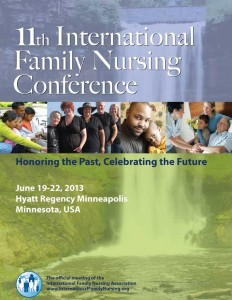 International Family Nursing Conference brochure cover