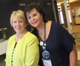 Left to right: Dr. Lorraine Wright, Dr. Janice Bell